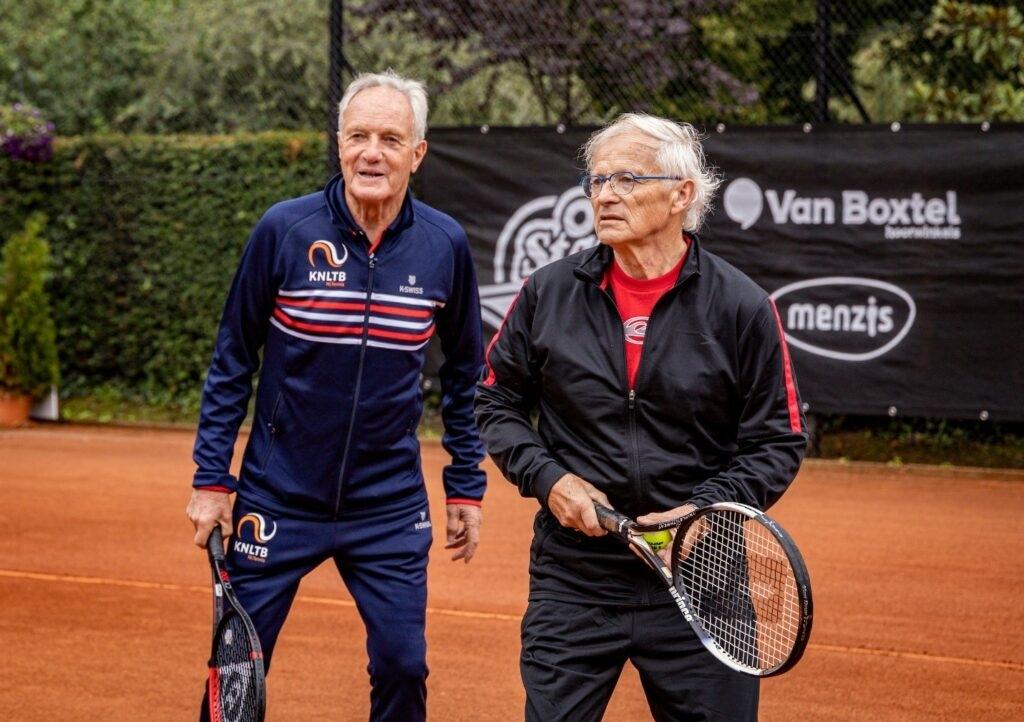 <p>Oldstars tennis.</p> (Foto: Team Sportservice) © rodi