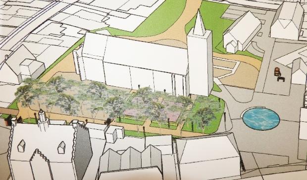 <p>Plan upgrade Kerkplein klaar voor uitvoering in 2021.</p>