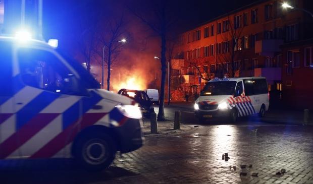 <p>Geweld en vernielingen in Haarlem</p>