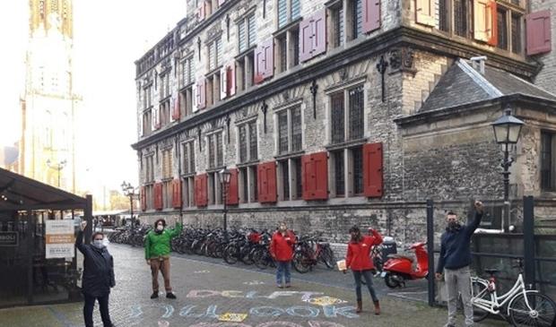 Ook in Haarlem komen actievoerders zaterdag samen.