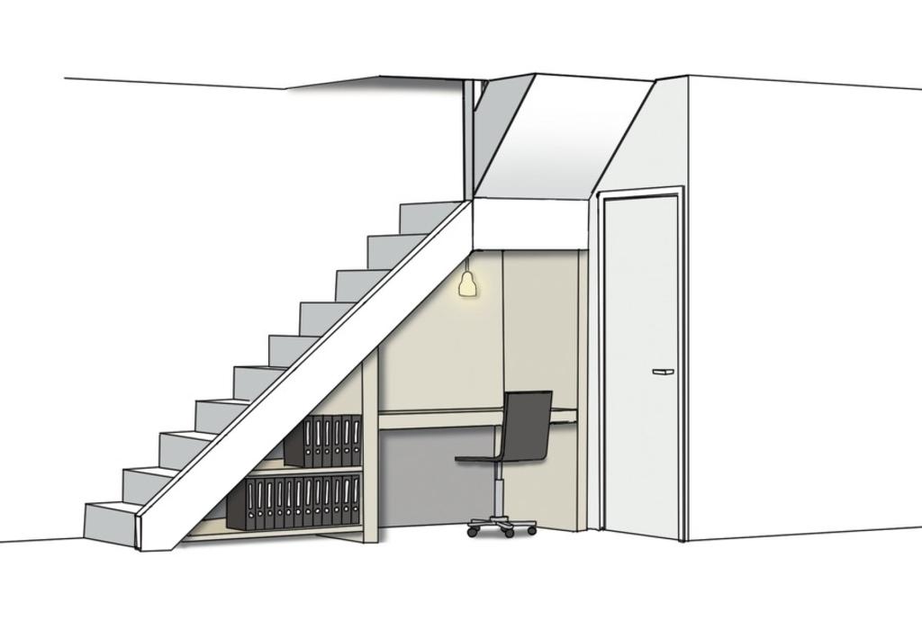 trapkast als werkplek <p>(Foto: vtwonen.nl)</p> © rodi