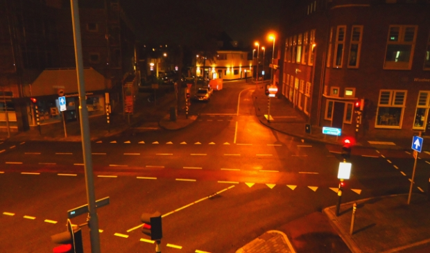 <p>Op het kruispunt Breestraat-Alkmaarseweg-Schans en Hendrik Mandeweg is het stil.</p>