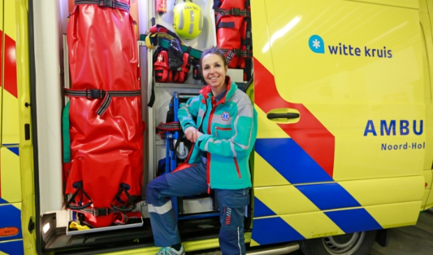 <p>Ambulance verpleegkundige Chantal Blom</p>