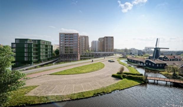 Project Zaanse Helden aan de Houtveldweg is aardig op weg  naar de eindfase in de bouw.