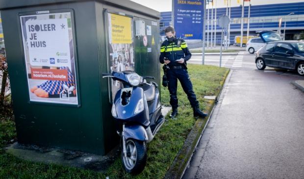 Ongeluk bij IKEA Haarlem.