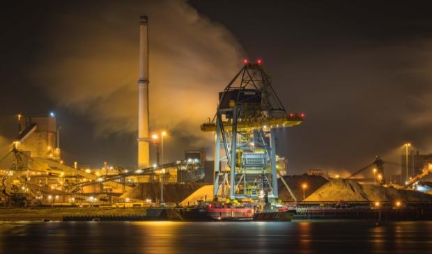 <p>In IJmuiden domineert de industrie van het inmiddels veelbesproken Tata Steel.&nbsp;</p>