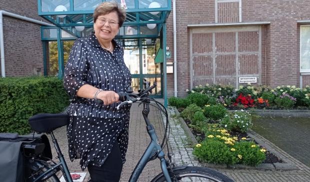 <p>Burgemeester Marina van der Velde is klaar voor een nieuwe toekomst.</p>