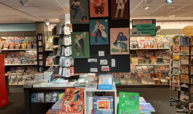 <p>Brun&aacute; Cronj&eacute;straat pakt uit tijdens de Kinderboekenweek!</p>