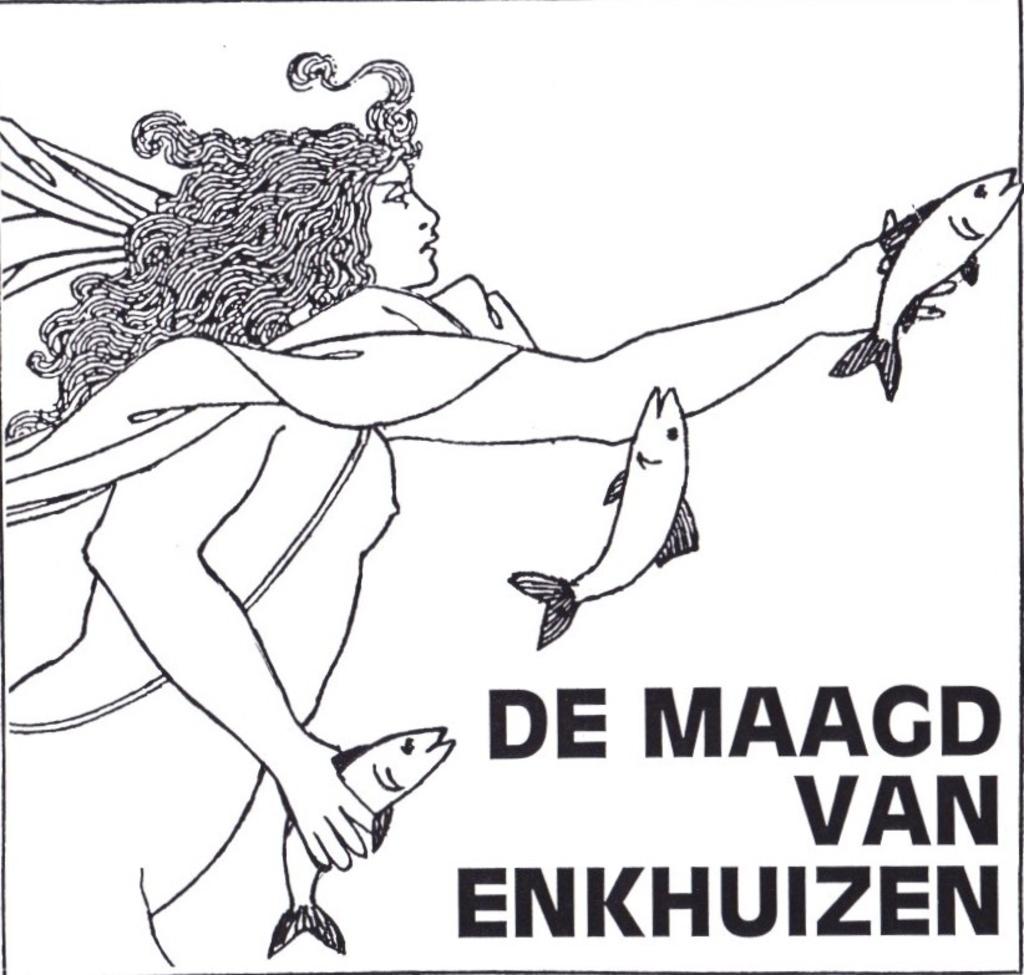 Het logo van De Maagd van Enkhuizen. Foto: aangeleverd © rodi