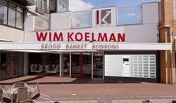 Gebak uit de muur bij Wim Koelman Brood-Banket-Bonbons