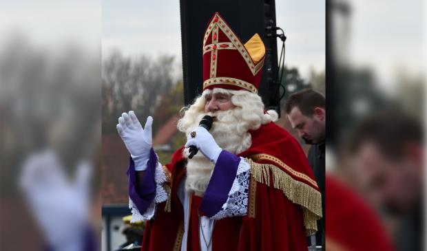 <p>Sinterklaas zet op 20 november voet aan wal op de Burcht.</p>