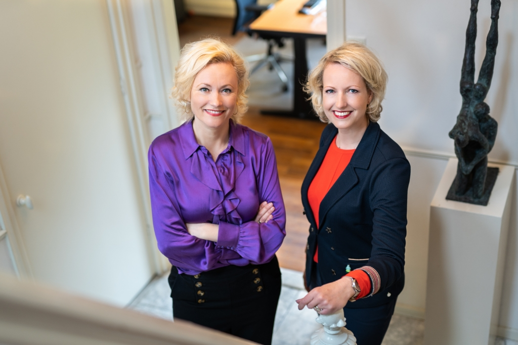 <p>Carola en Liane de Ruijer van FamilieZaken.</p>