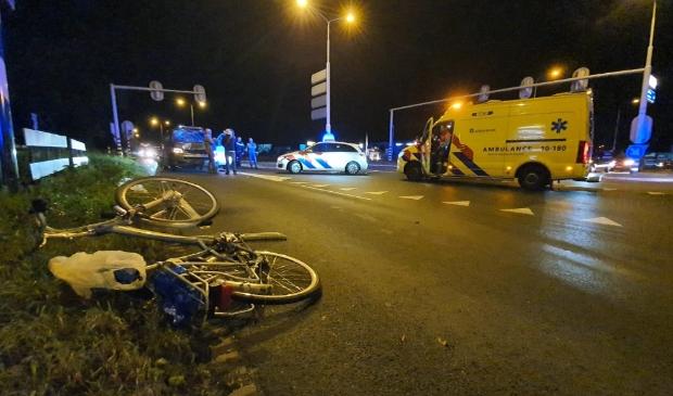 <p>Fietser aangereden bij de oversteekplaats over de Westerweg.</p>
