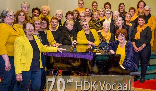 <p>Het 70-jarig bestaan van het vrouwenkoor HDK Vocaal.</p>