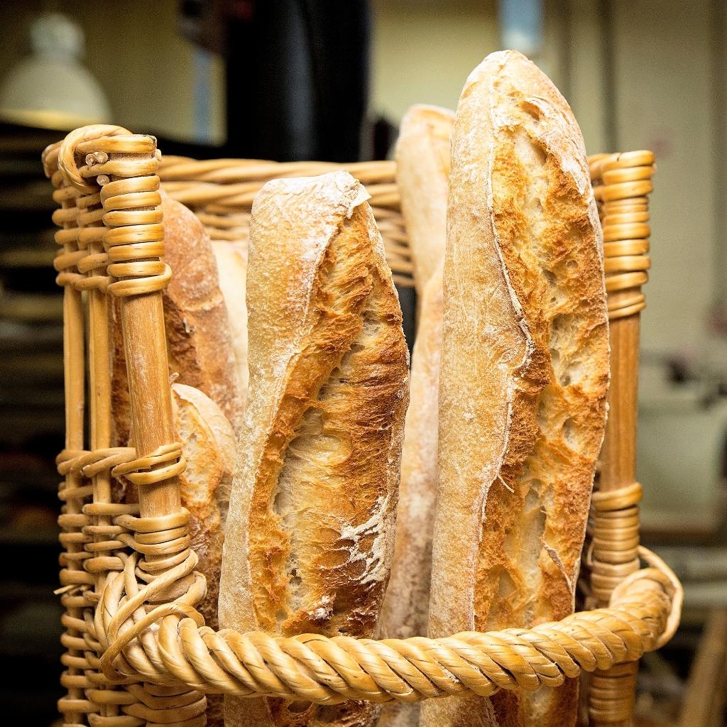 De KISS Bakery bakt stokbrood zoals het in Frankrijk smaakt; knapperig vers, luchtig en een feestje voor je smaakpapillen. (Foto: Ton van Veen) © rodi