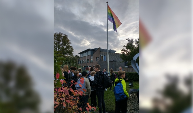 """<p pstyle=""""PLAT"""">Coming Out Day Clusius College Schagen.</p>"""