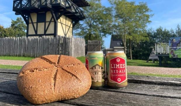 <p>De Neder-Germaanse Limes wordt ge&euml;erd met haar eigen bier en brood.&nbsp;&nbsp;</p>