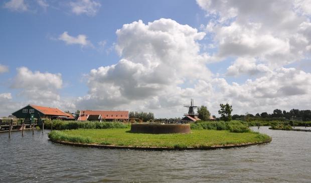 <p>Erfgoedpark De Hoop bij het Uitgeestermeer. </p>