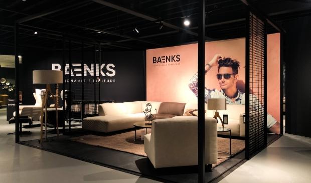 <p>De showroom is opnieuw ingericht om Baenks goed te kunnen presenteren.&nbsp;</p>