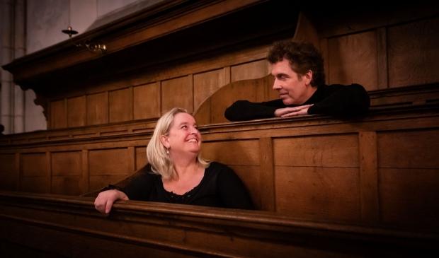 <p>Countertenor Sytse Buwalda en sopraan Heleen Koele.</p>