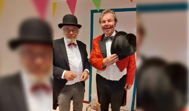 <p>John Numeijer en Peter Middelburg.</p>
