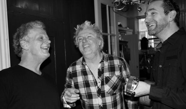 <p>Marcel Kapteijn en zijn Raindogs Nico Dobber en Sander Schuurman.</p>