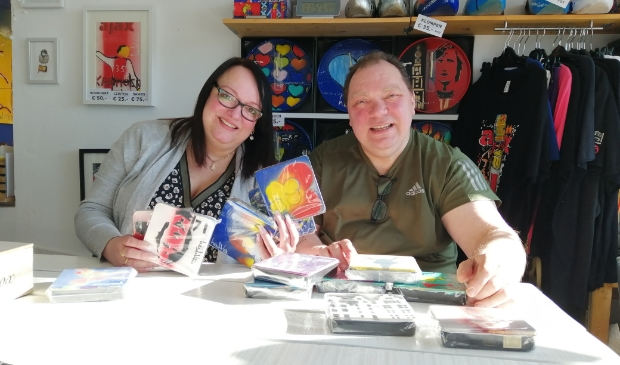 <p>Henk en Freeda. Man en vrouw en een creatief koppel.</p>