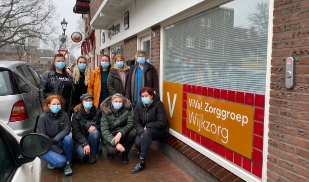 <p>Wijkzorgteam Plantage-de Raep.&nbsp;</p>
