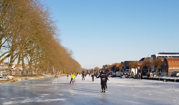 <p>Veel mensen zijn gevallen op het ijs dit weekend.</p>