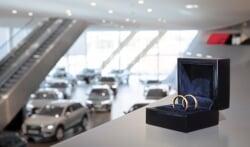 Audi-fans gaan voor bruiloft bij Audi Centrum Amsterdam