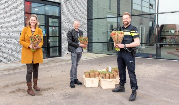 <p>V.l.n.r. Marbel de Graaf, Martijn van den Berg, Tom Blekkenhorst.</p>