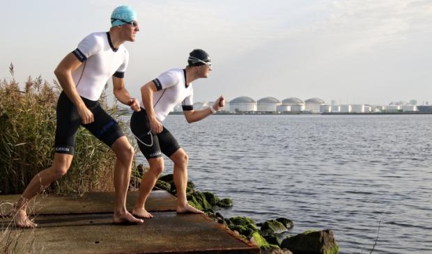 """<p pstyle=""""PLAT"""">Sander werd gegrepen door de triatlonuitdaging. Zijn doel: goud in 2024 in Parijs halen! (Foto: Menno de Haas) © rodi"""