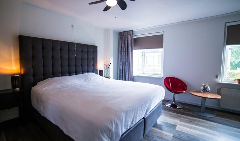 Fraaie kamers in het Hotel De Korenbeurs.