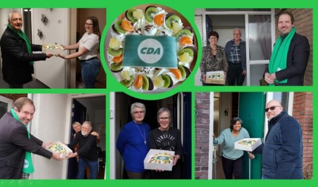 <p>CDA Hoorn bedankt genomineerde.</p>