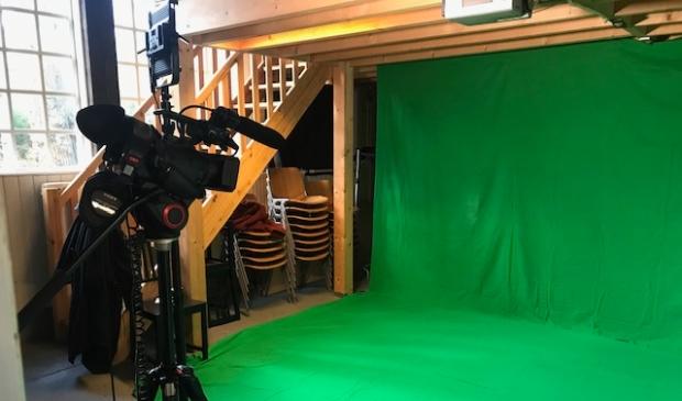<p>Greenscreen workshop.</p>