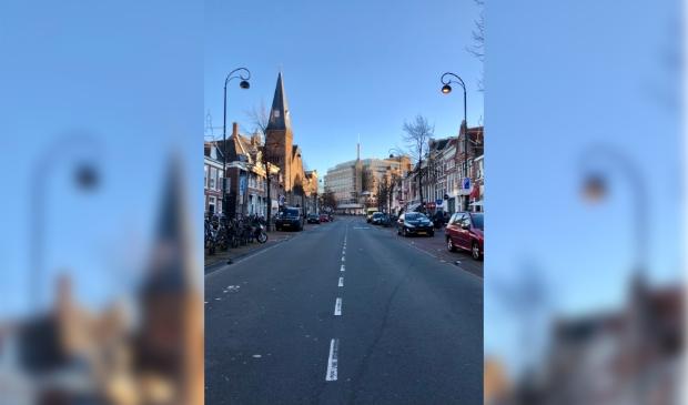 <p>De Gedempte Oude Gracht.</p>