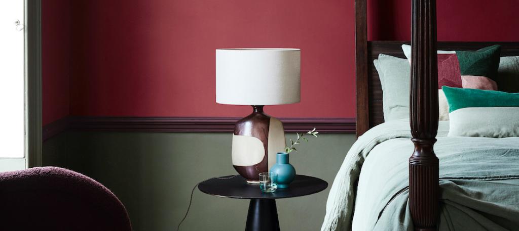 <p>Verf- en behang altijd een goede combinatie voor make-over.</p> (Foto: Little Greene) © rodi