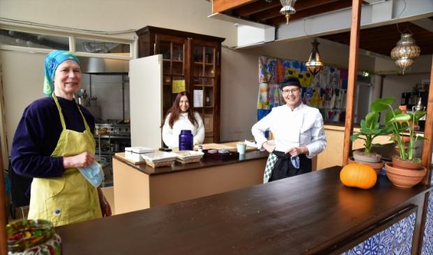 <p>Ans, Emel en Elles zorgen voor de lekkerste, betaalbare maaltijden. </p>