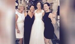 Supersale in designer trouwjurken bij Bruidsmode Hedwig