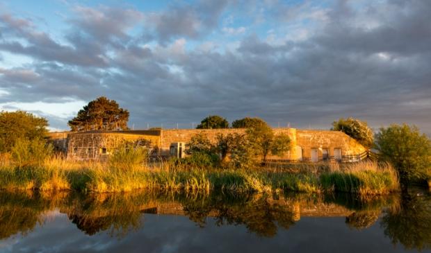 <p>Fort bij Krommeniedijk. </p>