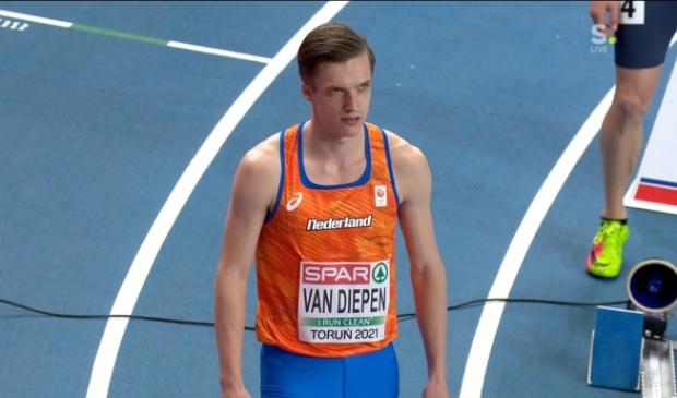<p>Tony van Diepen mag met de 4x400 meter estafetteploeg naar de Spelen.</p>