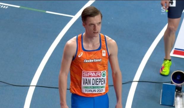 <ul><li>Tony van Diepen liep een persoonlijk record in de halve finale.</li></ul>