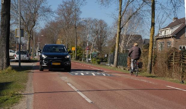 <p>De Sloterweg lijkt op de foto een veilige weg, maar er rijdt teveel verkeer en daardoor ontstaan er gevaarlijke situaties.&nbsp;</p>