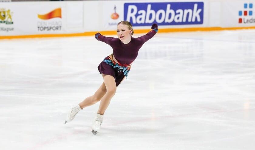 Lindsay van Zundert actief tijdens de Challenge Cup