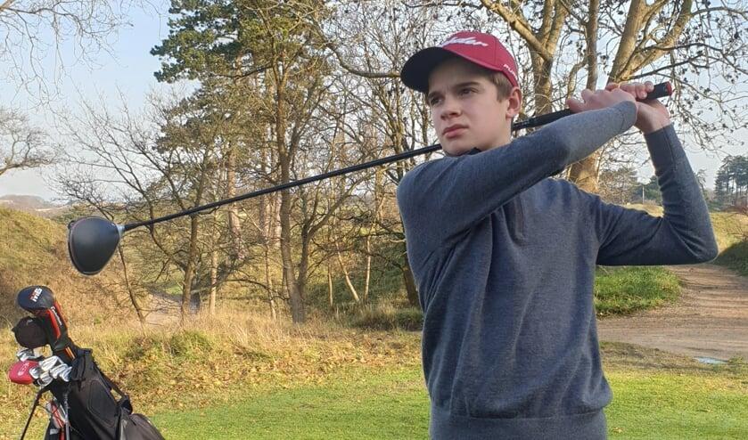 Olivier van Lelyveld: ,,Ik heb ontzettend veel zin in het komende golfseizoen. Ik heb een heel lijstje met toernooien die ik wil spelen.''