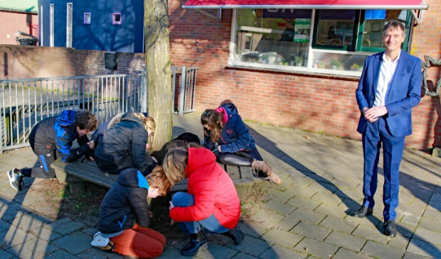 <p>De leerlingen van de Grosthuizerschool waren lekker buiten aan de gang.</p>
