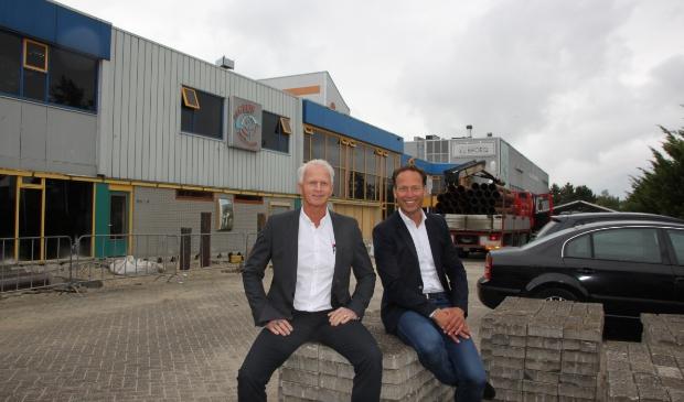 <p>Cornelis de Geus en Michiel van Overbeek van Bedrijfskring Langedijk.</p>