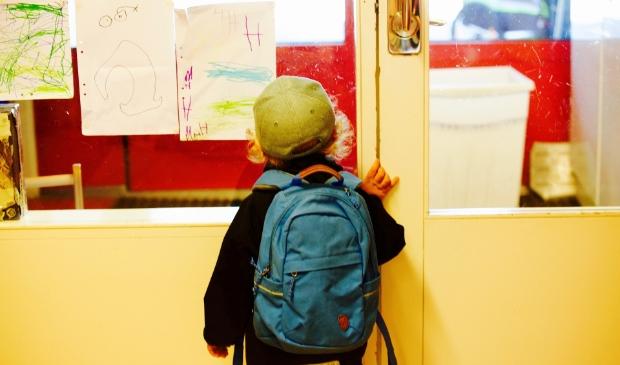 <p>Voor veel kinderen van De Blauwe Morgenster blijft de deur van de school dezer dagen gesloten.&nbsp;</p>