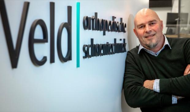 <p>Rob Verhoogt van orthopedische schoentechniek Veld uit Alkmaar.</p>