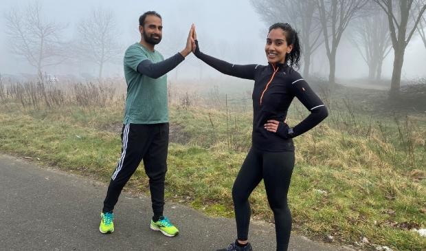 <p>Chandni en Shiva trekken samen op om hun hardloopdroom waar te maken.&nbsp;</p>